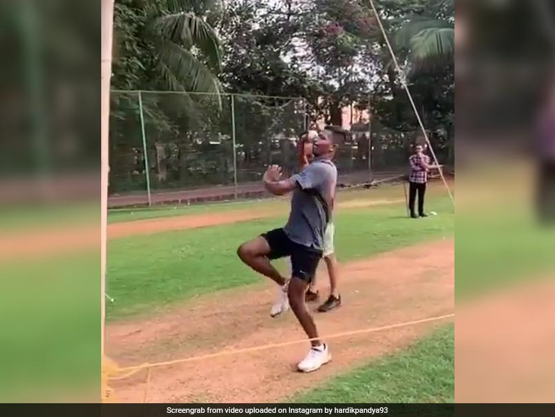 Watch: Hardik Pandya Bowls First Time After 60 Days On His Road To Recovery