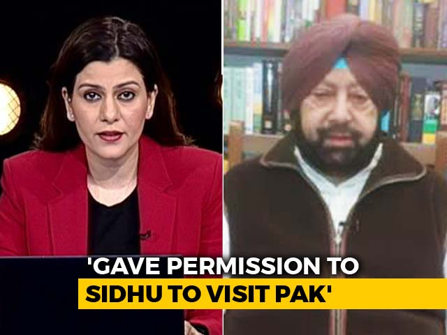 Video : Couldn't Accept Pak Invite In Face Of Terror Attacks: Amarinder Singh