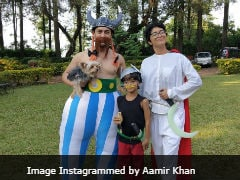 Aamir Khan Reveals <i>Asterix</i> Party Backstory After Pics Go Viral
