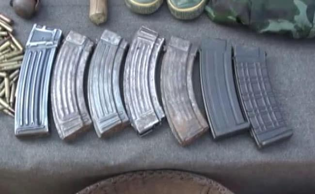 China-Made Weapons, Huge Cache Of Arms Found From 2 Terrorists In Assam
