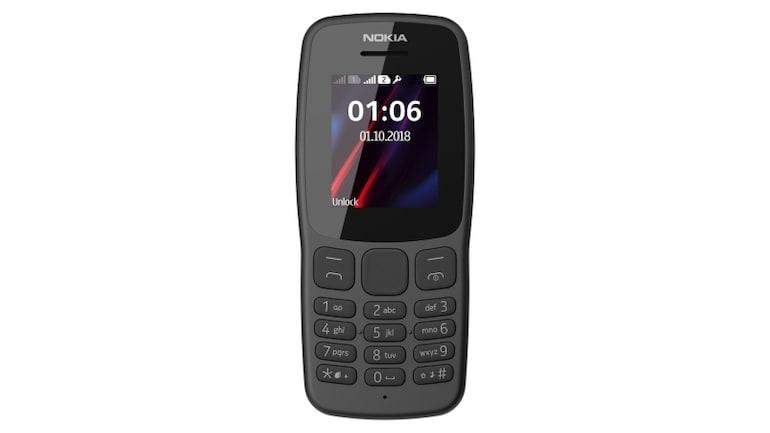 Nokia 106 (2018) फीचर फोन लॉन्च, जानें सारी खासियतें