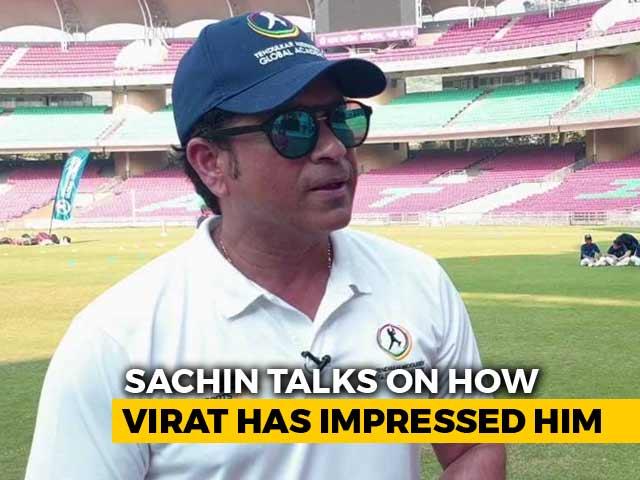 Video : Sachin Tendulkar Speaks On Virat Kohli's Rise, India's Chances In Australia
