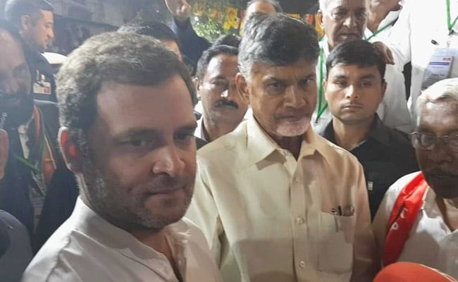 'No Ideological Differences': Chandrababu Naidu On Congress Team-Up