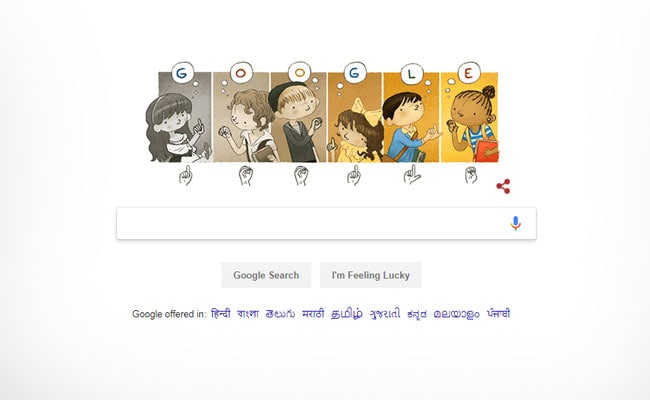 Google Celebrates Charles-Michel De l'Epee's 306th Birthday With Doodle