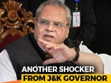 "Video : J&K Governor Talks ""Threat Of Transfer"" After Controversy Over Remarks"