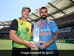India vs Australia, Live Score 1st T20I: Rain Halts Play In Brisbane