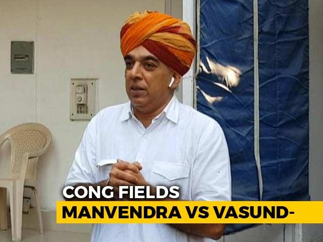 Congress Fields BJP Veteran Jaswant Singh's Son Against Vasundhara Raje