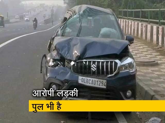 Video : दिल्ली : नशे में धुत लड़की ने तीन गाड़ियों को मारी टक्कर, एक महिला की मौत