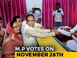 Video : Madhya Pradesh Chief Minister Shivraj Chouhan Files Nomination Papers