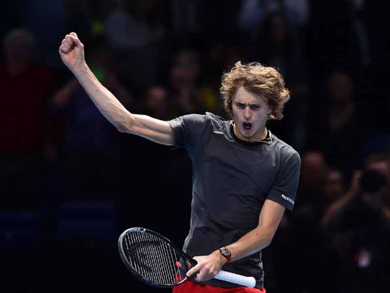 Alexander Zverev Sets Up Roger Federer Last-Four Clash At ATP Finals