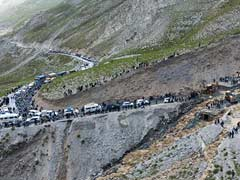 41 Trekkers, Stranded Due To Overflowing River In Ladakh, Rescued
