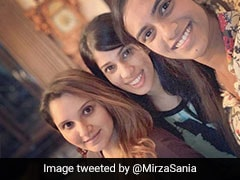 "Sania Mirza Thanks ""Auntie"" PV Sindhu And Joshna Chinappa For Visiting Baby Izhaan"