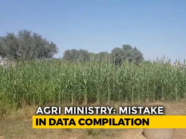 "Video : In 180-Degree On Notes Ban, Agriculture Ministry Cites ""Mistake"": Sources"