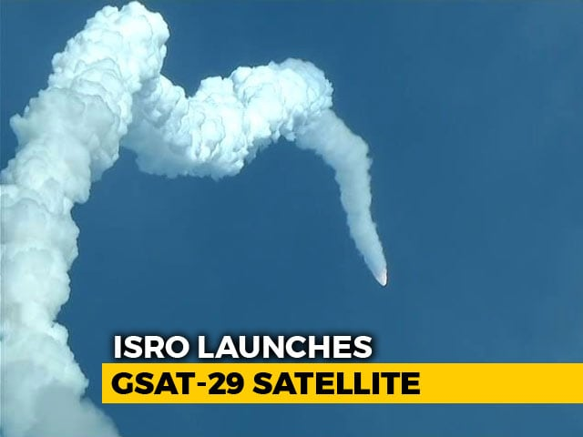 Video : ISRO Launches Communication Satellite, Has 'Geo-Eye' To Monitor India