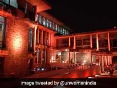 In Support Of #MeToo, UN House Turns Orange To End Violence Against Women