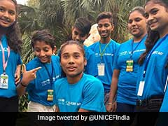 Hima Das Appointed UNICEF India