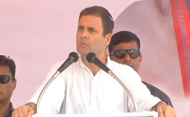 राहुल गांधी बोले- बीजेपी में फर्जी डिग्रियां मंत्री पद पाने का शार्टकट रास्ता