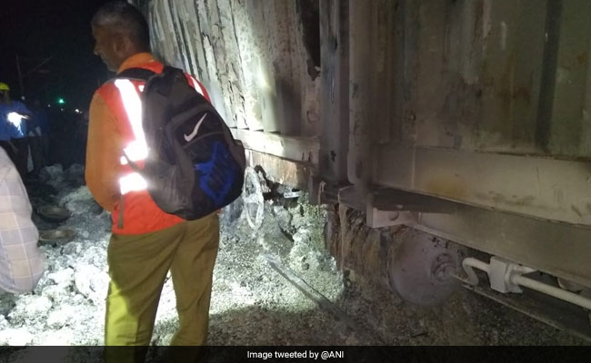 10 Long Distance Trains Cancelled After Fire In Goods Train In Palghar