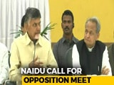 Video : Chandrababu Naidu Calls Meeting Of All Non-BJP Parties On November 22