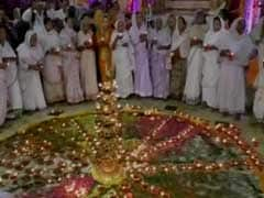 Vrindavan Widows Celebrate Green Diwali With Colourful Diyas And Rangolis