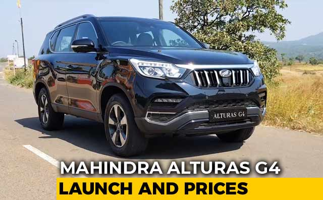 Mahindra Alturas G4 Launched In India Prices And Specs