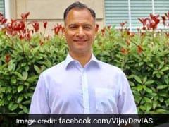 Vijay Kumar Dev To Succeed Anshu Prakash As Delhi Chief Secretary