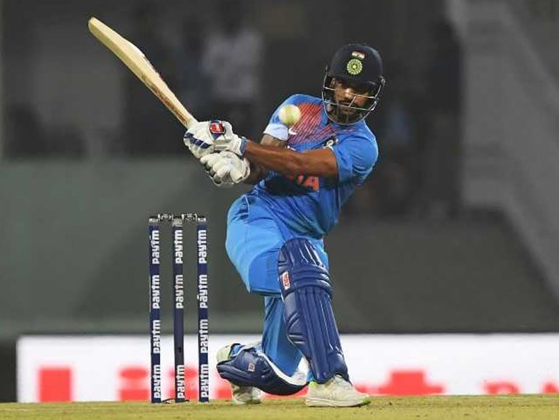 Highlights India Vs West Indies 3rd T20i Shikhar Dhawan