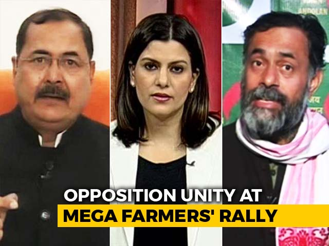 Video : Farmers March For Their Rights: Is Government Listening?