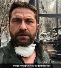 Gerard Butler Shares Video Of His Home Ravaged In California Wildfire