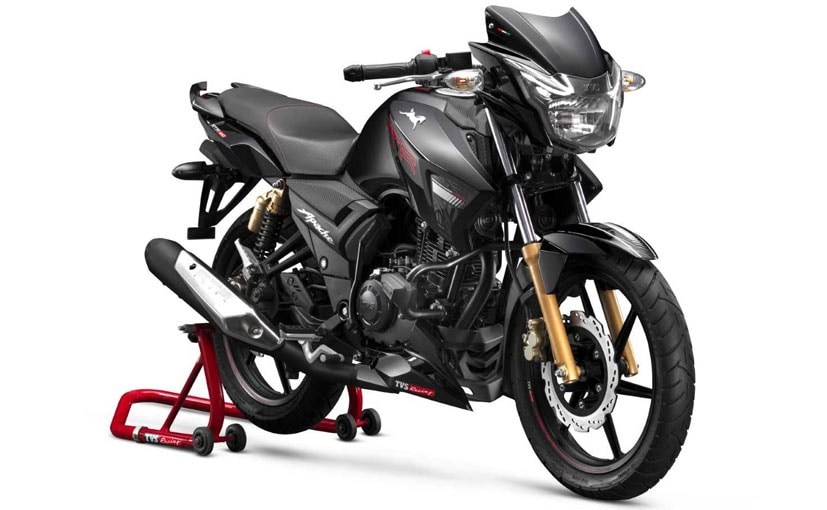 2019 tvs apache rtr 180 launched in india priced at rs 84 578