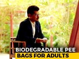 Video : Invention Of Biodegradable Pee Bags In India