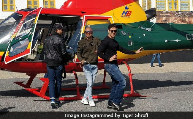 Hrithik Roshan And Tiger Shroff Wrap Schedule For Siddharth Anand's Film. See Pics
