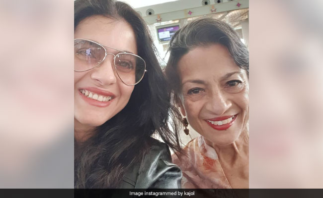 Kajol's Pic Of Herself With Mom Tanuja Is Getting A Whole Lot Of Love