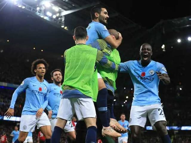Manchester City Outclass Manchester United To Move Top Of Premier League