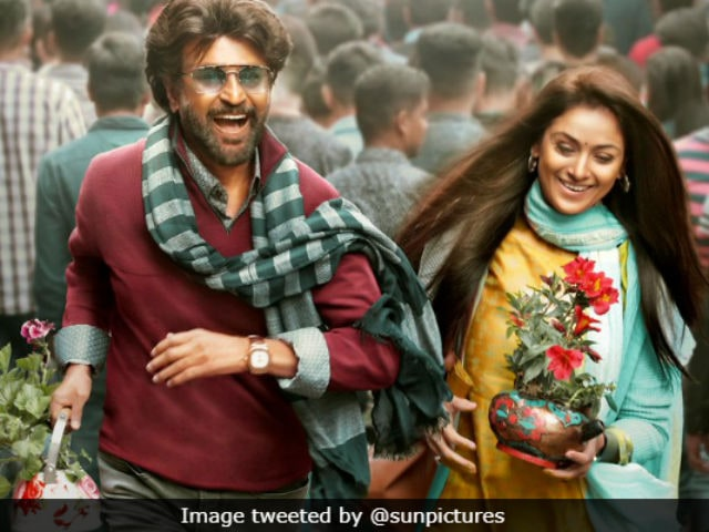 <i>Petta</i> New Poster: Rajinikanth Smiles, Simran Bagga Blushes As They Gear Up For Pongal