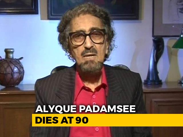 Video : Ad Guru And Actor Alyque Padamsee Dies At 90