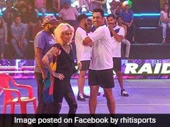 MS Dhoni Enthralls Fans By Trying His Hand At Kabaddi