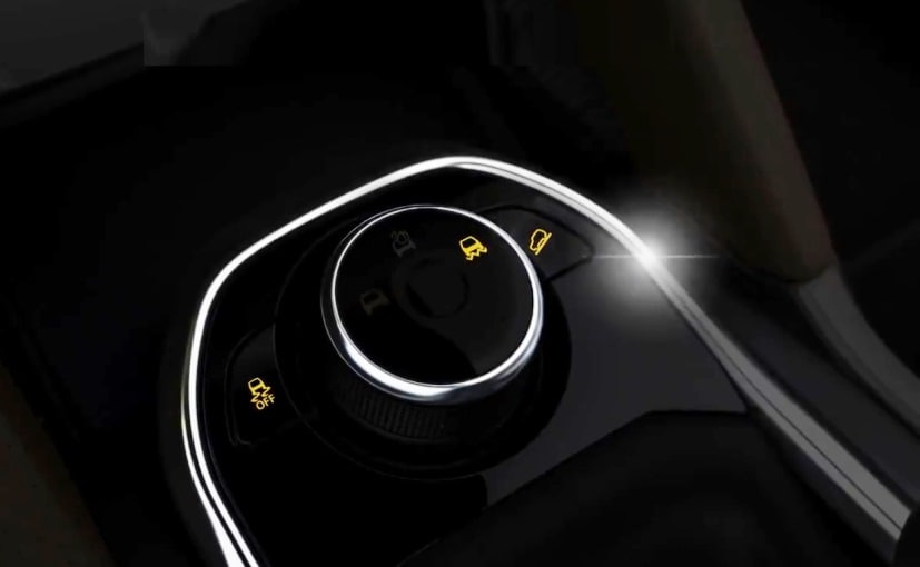 The upcoming Tata Harrier looks like will come with 3 driving modes - Road, Rain, and Off-Road