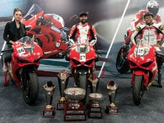 Double Win For Ducati Panigale V4 In 2018 JK Tyre National Racing Championship