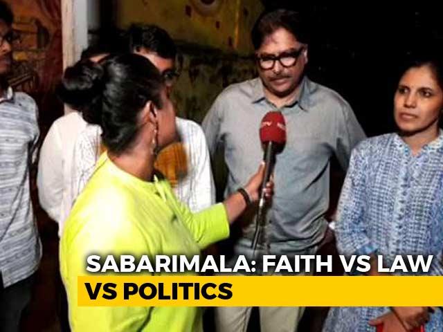 Video : Has Politics Hijacked The Sabarimala Row?