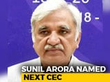Video : Sunil Arora Is Next Election Panel Chief, Takes Charge On Dec 2: Sources