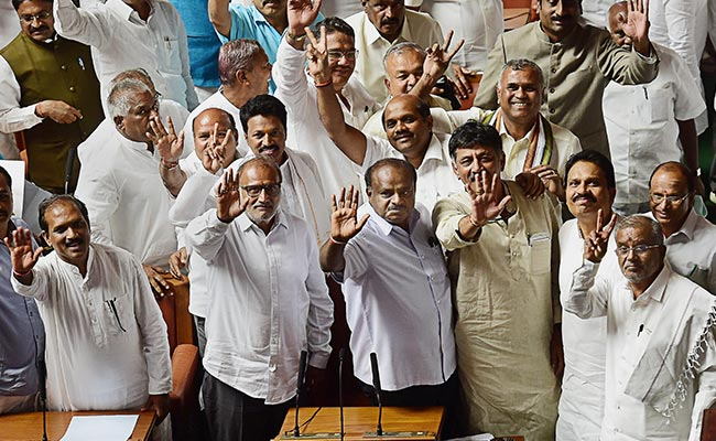 Election Results: 2019: Coalition Blues In Karnataka After Lok Sabha Shock