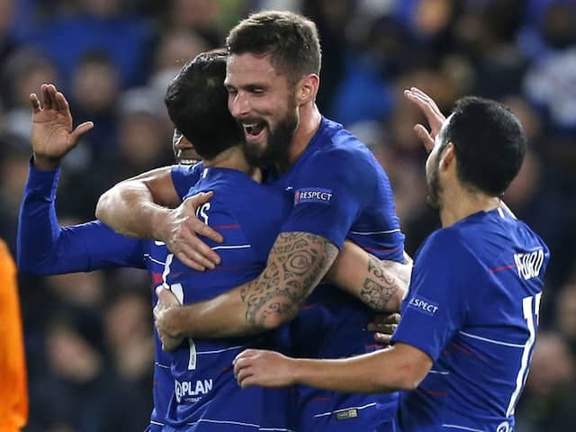 Chelsea And Arsenal Power On In Europa League