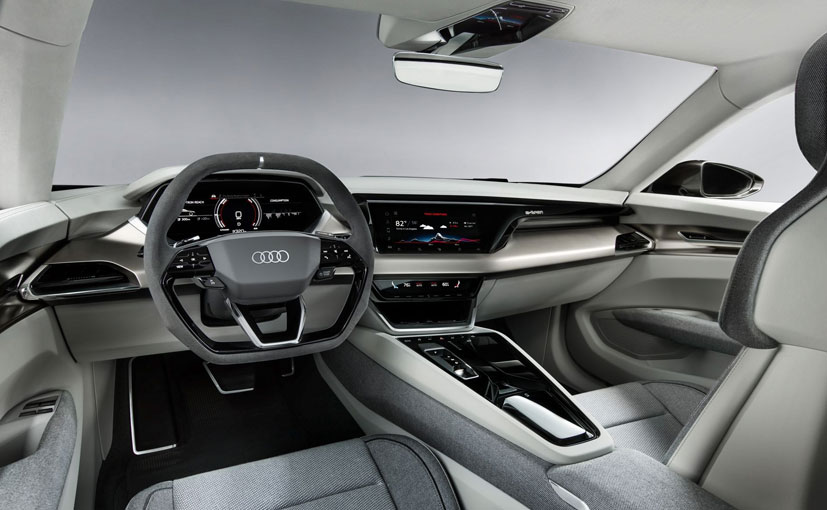 Audi E Tron Gt Concept Revealed Comes With A Range Of Over 400 Kms