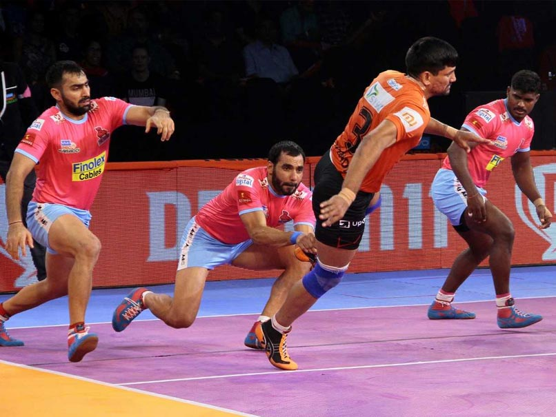 Pro Kabaddi League: U Mumba Open Home Leg With Thumping Win Against Jaipur Pink Panthers