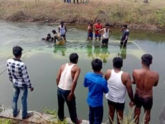 30 Dead After Bus Falls Into Canal In Karnataka's Mandya, 4 Rescued