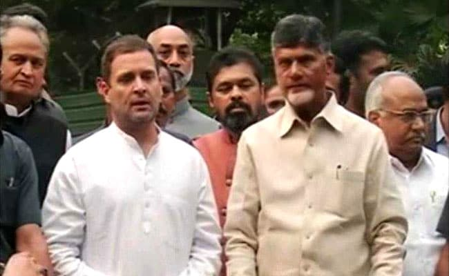 Chandrababu Naidu To Campaign With Rahul Gandhi In Telangana Next Week