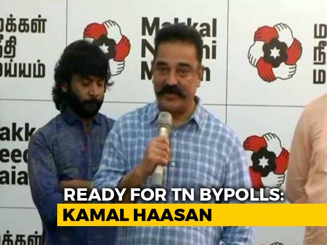 Video : Ready For Tamil Nadu Bypolls, Announces Kamal Haasan On 64th Birthday