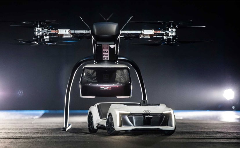 Audi customers could use a convenient and efficient flying taxi service in large cities