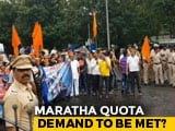 Video : Maharashtra Commission Submits Report On Maratha Reservation